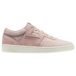 REEBOK, Club workout sn, Chalk pink/classic white/silver met