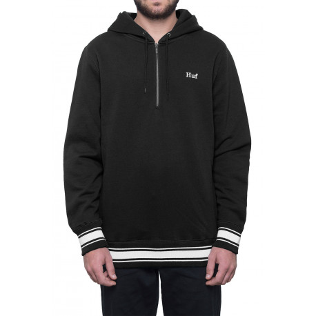 Sweat relay french terry hood - Black