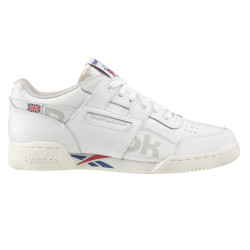 REEBOK, Workout plus mu, White/dark royal/red