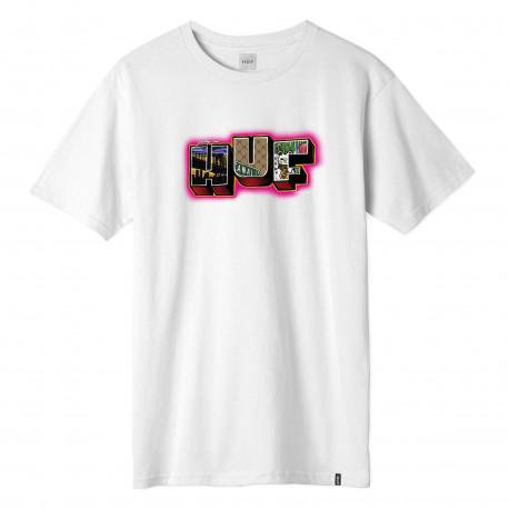 T-shirt town ss - White