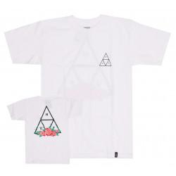 HUF, Sup t-shirt city rose tt ss, White