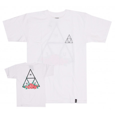 Sup t-shirt city rose tt ss - White