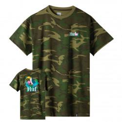 HUF, T-shirt yucatan ss, Camo