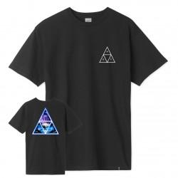 HUF, T-shirt space beach tt ss, Black