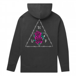 HUF, Sweat dystopia hood, Black
