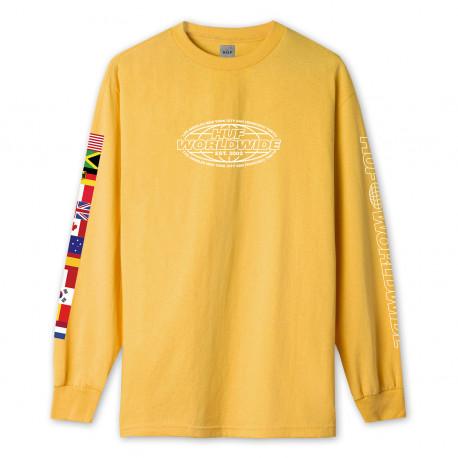 T-shirt world tour ls - Sauterne