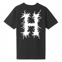 HUF, T-shirt crust h ss, Black