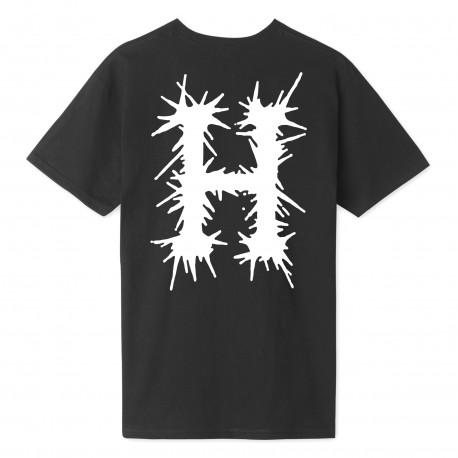T-shirt crust h ss - Black