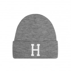 HUF, Beanie classic h, Grey heather