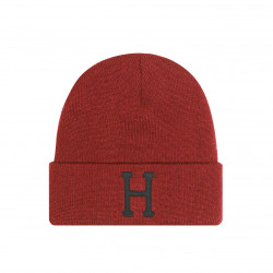 HUF, Beanie classic h, Rose wood red