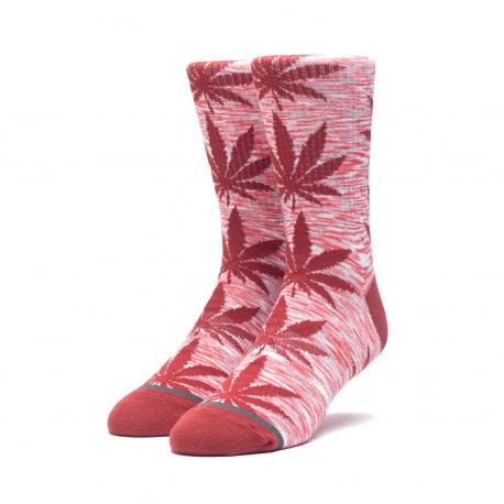 Socks melange plantlife - Rose wood red