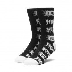 HUF, Socks crust, Black
