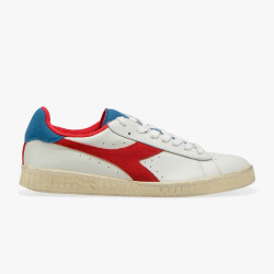 DIADORA, Game l low used, White /dark red