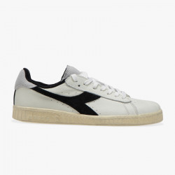 DIADORA, Game l low used, Blanc/noir