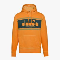 DIADORA, Hoodie spectra used, Orange mustard