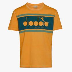 DIADORA, T-shirt ss spectra used, Orange mustard