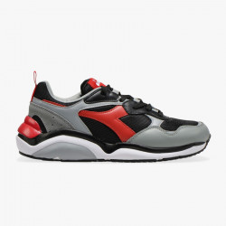 DIADORA, Whizz run, Nero/rosse capitale