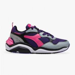 DIADORA, Whizz run wn, Violet mure/carmin rose