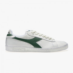 DIADORA, Game l low waxed, Blanc/verts paturages