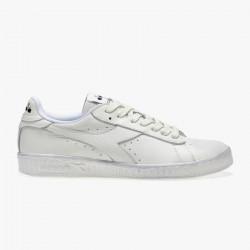 DIADORA, Game l low waxed, Blanc/blanc/blanc