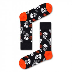 HAPPY SOCKS, Halloween skull sock, 9000