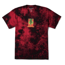 PRIMITIVE, T-shirt shenron wish washed ss red, Red black wash