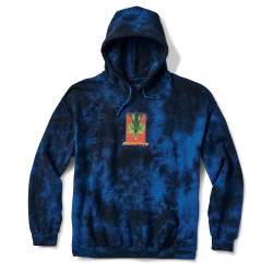 PRIMITIVE, Sweat shenron wish washed hood, Navy wash