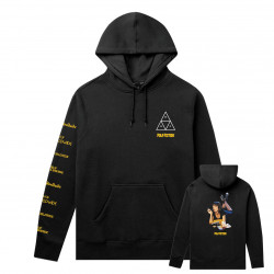 HUF, Sweat mia tt hood, Black