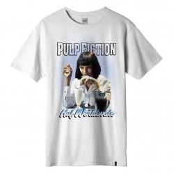 HUF, T-shirt mia airbrush ss, White