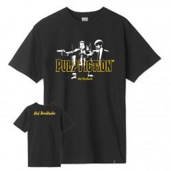 HUF, T-shirt pulp era ss, Black