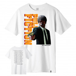 HUF, T-shirt ezekiel ss, White
