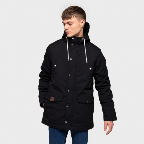 Leif parka jacket - Black