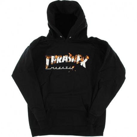 Sweat intro burner hood - Black
