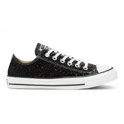 CONVERSE, Chuck taylor all star ox, Black/silver/white