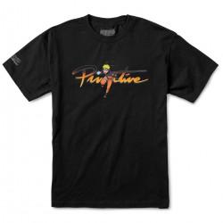 PRIMITIVE, T-shirt naruto nuevo, Black
