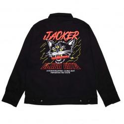 JACKER, Savage cat work jacket, Black