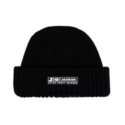 JACKER, Party short beanie, Black