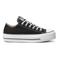 CONVERSE, Chuck taylor all star lift ox, Black/white/black
