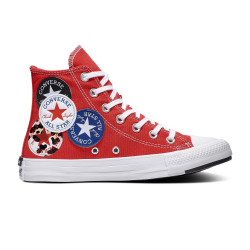 CONVERSE, Chuck taylor all star hi, University red/black/rush blue