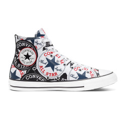 CONVERSE, Chuck taylor all star hi, Black/multi/white