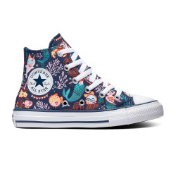 CONVERSE, Chuck taylor all star hi, Navy/rapid teal/white