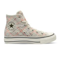 CONVERSE, Chuck taylor all star hi, Egret/multi/black