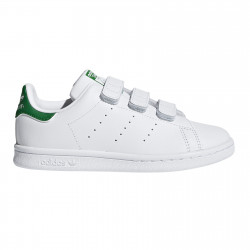 ADIDAS, Stan smith cf c, Ftwwht/ftwwht/green