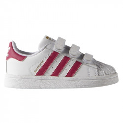 ADIDAS, Superstar foundation cf i, Ftwbla/rosecl/ftwbla