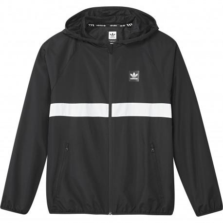 Bb wind jacket - Noir/blanc