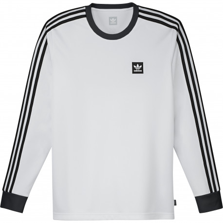 Ls club jersey - Blanc/noir
