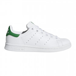 ADIDAS, Stan smith j, Ftwwht/ftwwht/green