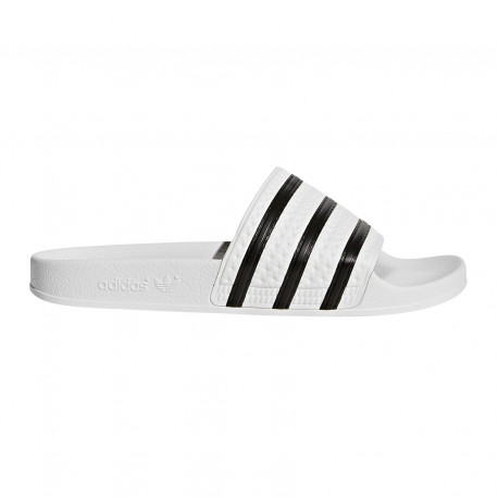 Adilette - White/core black/white