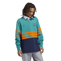 ADIDAS, Winchell polo, Veract/blnaco/orange