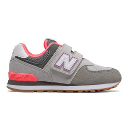 NEW BALANCE, Yv574 m, Grey/pink
